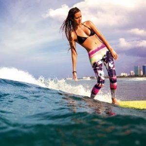 EUC Roxy POPSurf Surf Leggings, Sz XS